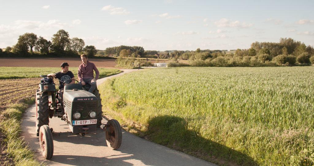 """De Landgenoten – """"Eén procent van Vlaanderen is biolandbouwoppervlak. Europa haalt gemiddeld zes procent."""""""