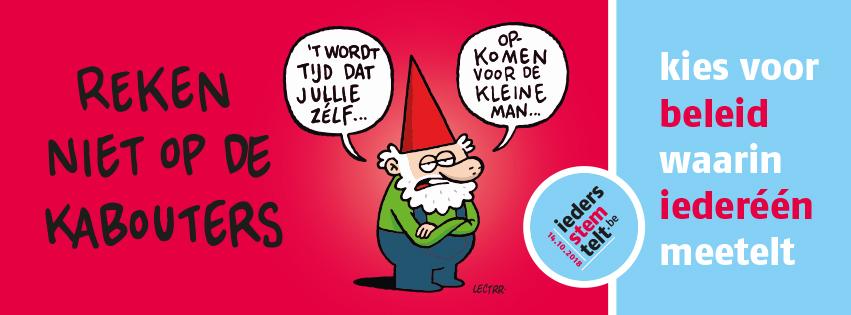 'Ieders stem telt' doet een appel op alle Vlaamse kiezers