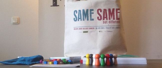 Speel mee met Same Same, een spel tegen racisme en discriminatie