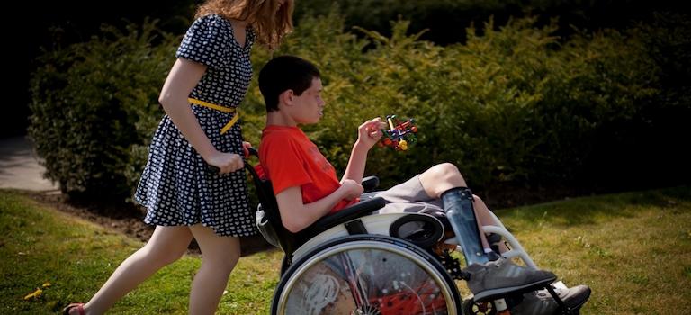 Dit is VFG, de vereniging van en voor personen met een handicap