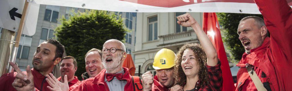 Het Vlaams ABVV wil een ecologische en sociaal rechtvaardige toekomst