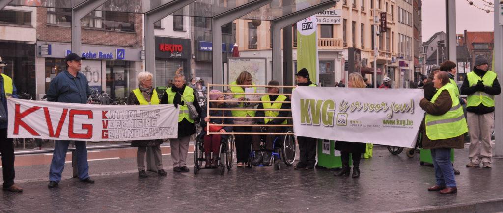 """KVG – """"Volwaardig burgerschap en inclusie voor mensen met een beperking"""""""